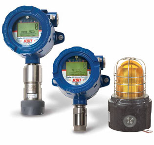 Industrial & Commercial Gas Detection System