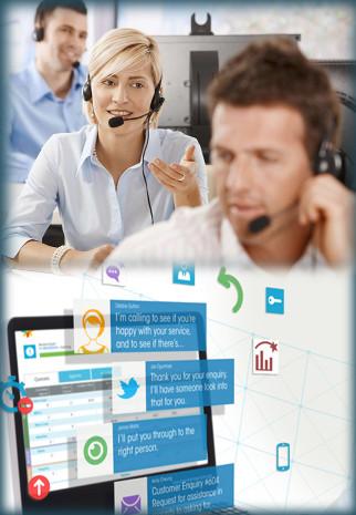call centre compressed